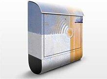 Pastel For Your Room 39x46x13cm Briefkasten, Standbriefkasten, Briefkästen, Abstrakt, Emotionen, Farben, Formen, Klecks