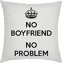 PasTomka No Boyfriend No Problem Kissen