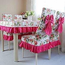 Pastoral modernen minimalistischen Stuhl-Sets/Cover für Rückseite Stühle Polster Kit-A