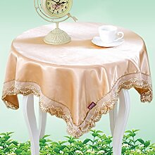 Pastoral Tuch/Runde Tisch Tischdecke/Tischsets/Tischdecken/Matte/Tischdecken-D 180x180cm(71x71inch)