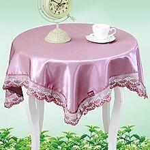 Pastoral Tuch/Runde Tisch Tischdecke/Tischsets/Tischdecken/Matte/Tischdecken-B 90x150cm(35x59inch)