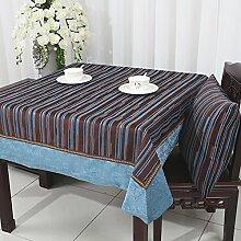 Pastorale American Style Tuch/Stoff-tischdecke/Tischtuch/Tee Tischdecke-F 120x120cm(47x47inch)