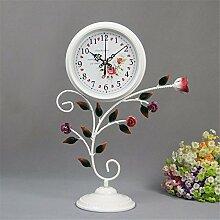 Pastorale Clockside am Bett sitzen Uhr Wohnzimmer