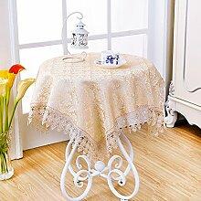 Pastorale kleinen quadratischen tisch tuch/runde tischdecke/quadrat,spitze,tischtuch/tee tischdecke/multi-pupose serviette/[tv-cover]/kühlschrank-handtuch cover-E 140x140cm(55x55inch)