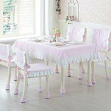 pastorale Prinzessinnen Tischdecken/ Baumwollstoff/100? baumwolle Tischdecke/Runder Couchtisch rechteckige Matte/Tischdecke decke-C 42x43cm(17x17inch)