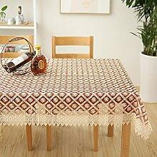 Pastorale spitze tischdecke/teetisch,tv schrank tischdecke-B 150x220cm(59x87inch)