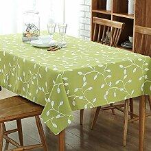 Pastoralen Stil Bestickte Tischdecken Einfache