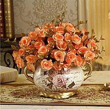 Pastoralen Stil europäische Keramik Vase für
