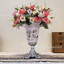 Pastoralen Stil Harz Vase für Mittelstücke Wohnzimmer Weihnachten Geburtstag Hochzeit Party Geschenk Desktop Home Decor