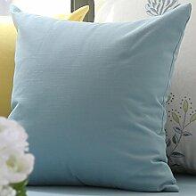 Pastoralen Stil Kissen/ Leinen-Kissen/Sofa-Bett Umarmung Kissenbezug-A 25x40cm(10x16inch)VersionA
