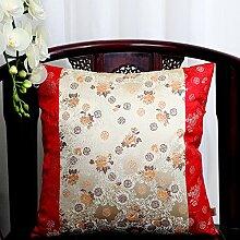 Pastoralen Stil klassische Kissen/ Büro des lumbalen Kissen/ zurück auf dem Bett/ Auto-Taille/Kissen-D 60x60cm(24x24inch)