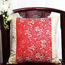 Pastoralen Stil klassische Kissen/ Büro des lumbalen Kissen/ zurück auf dem Bett/ Auto-Taille/Kissen-H 40x50cm(16x20inch)