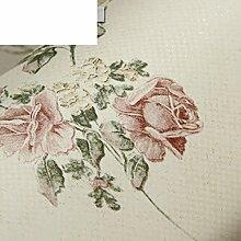 Pastoralen Stil Tapeten/Schlafzimmer Vlies Tapete/3d TV-Tapeten/floral Tapete im Wohnzimmer-D