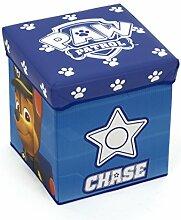Pat patrouille Aufbewahrungsbox Stoff/Holz, blau,