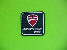 Patch, Aufnäher bestickt Bügelbild,, Ducati