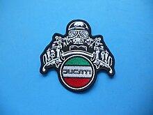 Patch, Aufnäher bestickt Bügelbild, Patch Ducati