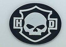 Patch Aufnäher Logo flexibel Druck 3D Aufbügler
