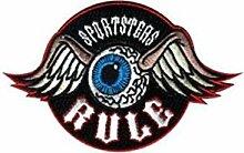 Patch Aufnäher sportsers Rule Motorrad Custom