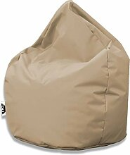 Patchhome Sitzsack Tropfenform - Beige für In &