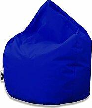 Patchhome Sitzsack Tropfenform - Blau für In &