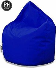 Patchhome Sitzsack Tropfenform Blau für In &