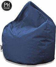 Patchhome Sitzsack Tropfenform Blaugrau für In &