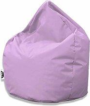 Patchhome Sitzsack Tropfenform - Flieder für In &