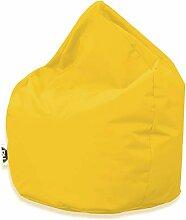 Patchhome Sitzsack Tropfenform - Gelb für In &