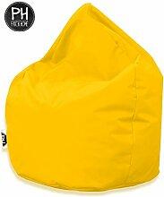 Patchhome Sitzsack Tropfenform Gelb für In &