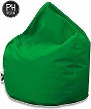 Patchhome Sitzsack Tropfenform Grün für In &