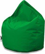 Patchhome Sitzsack Tropfenform - Grün für In &
