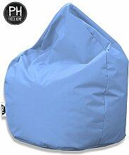 Patchhome Sitzsack Tropfenform Hellblau für In &