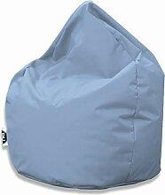 Patchhome Sitzsack Tropfenform - Hellblau für In