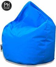Patchhome Sitzsack Tropfenform Königsblau für In