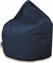 Patchhome Sitzsack Tropfenform - Marine für In &