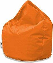 Patchhome Sitzsack Tropfenform - Orange für In &