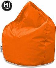 Patchhome Sitzsack Tropfenform Orange für In &