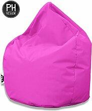 Patchhome Sitzsack Tropfenform Pink für In &