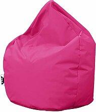 Patchhome Sitzsack Tropfenform - Pink für In &