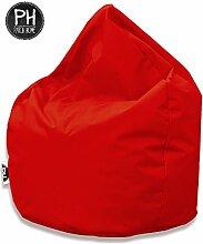 Patchhome Sitzsack Tropfenform Rot für In &