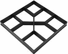 Path Maker Form, Garten-Rasen-Form Betonform Zum