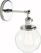 Pathson Antik Deko Design Kleine Kugel Klar Glas