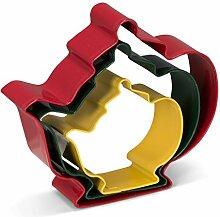 Patisse 02024 Ausstechformen-Set für Teekanne,