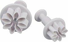 Patisse 2049 Ausstechformen-Set Blume mit