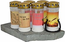 Paul Jansen GLM240SET Kerze, Verschiedene Dekore,