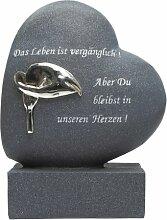 Paul Jansen Grabdekoration, Herz mit Calle,