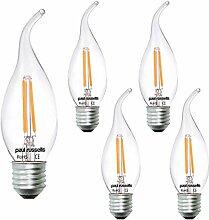 Paul Russells LED-Leuchtmittel, 2 W, gebogene