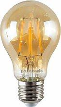 Paul Russells LED-Leuchtmittel, 6 W = 60 W, GLS,
