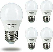 Paul Russells LED-Leuchtmittel, Golfballform, 5 W,