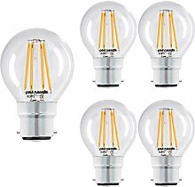 Paul Russells LED-Leuchtmittel, Golfballform, B22